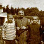 M. Urszula z wychowankami Kolegium, 1927