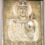 Płaskorzeźba św. Olafa