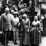 Z prezydentem Mościckim w Pniewach, 1927