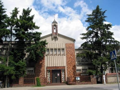 Kaplica - wejście od ulicy