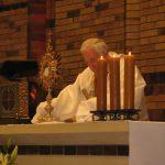 Wystawienie Najświętszego Sakramentu przed procesją
